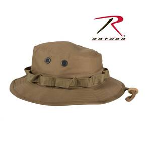 Rothco Boonie Hat - Cotton/Polyester Coyote Brown