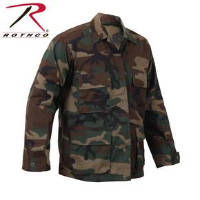 Rothco Rip-Stop BDU Shirt - 100% Cotton