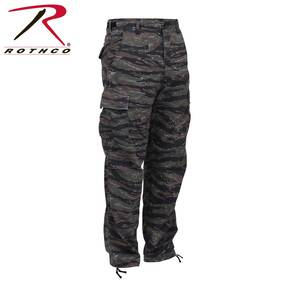 Rothco Camo BDU Pants - 55/45 Cotton/Polyester Tiger Stripe