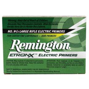 Remington No. 9-1/2 Large Rifle EtronX Primers for Centerfire Cartridges