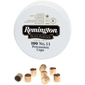 Remington Percussion Caps #11 - 100/ct