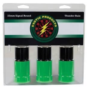 Exotic Thunder Rain Shotshell Thunderous Sound with burst of Crackling Color 3ct