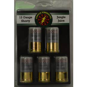 Exotic Shorty Jungle Juicet Shotshells 12 ga 1-3/4 in 1215 fps #00& #7.5  5/ct