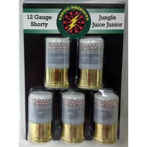 Exotic Shorty Jungle Juice Junior Shotshell 12 ga 1-3/4 in 1225 fps #00 & #7.5 5/ct