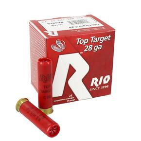 "Rio Field 28 ga 2 3/4"" MAX 3/4 oz #7.5 1295 fps - 25/box"