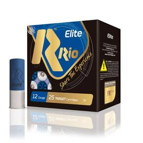 "Rio Elite 28 Shotshell 12 ga 2-3/4"" 2-3/4 oz 1 oz #7.5 1250 fps 25/ct"