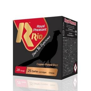 "Rio Royal Pheasant Copper 28 ga 2-3/4"" 1oz 1250 fps #6 25/ct"