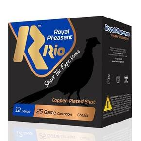 "Rio Royal Pheasant Copper HV Shotshell 12ga 2-3/4"" 1-1/4oz 1400 fps #5 25/ct"