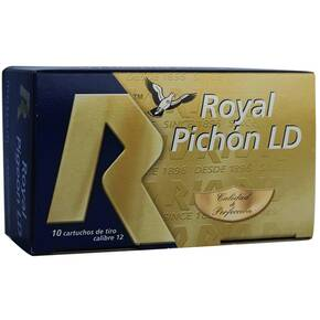 "Royal Pigeon L/D Shotshells 12 ga 2-3/4"" 1-1/4oz 3-3/4 dram #8 10/ct"