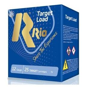 "Rio Steel Target Load Shotshells 12ga 2-3/4""  7/8oz 1340 fps  #7 25/ct"