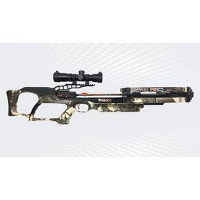 Ravin R10 Crossbow Package with Illuminated Scope & Versa-Draw Cocking System - Predator Camo