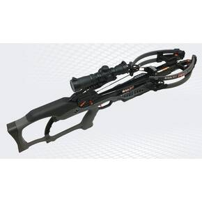 Ravin R10 rossbow Package with Illuminated Scope & Versa-Draw Cocking System - Gunmetal Grey
