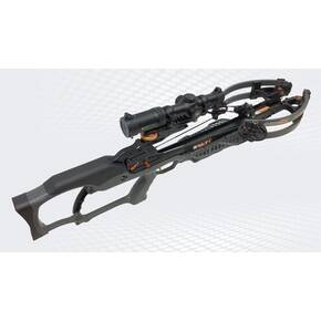 Ravin R20 Crossbow Package with Illuminated Scope & Versa-Draw Cocking System - Gunmetal Grey