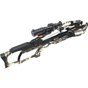 Ravin R20 Sniper Crossbow Package with Ravin Vortex Scope & Versa-Draw Cocking System - Predator Camo