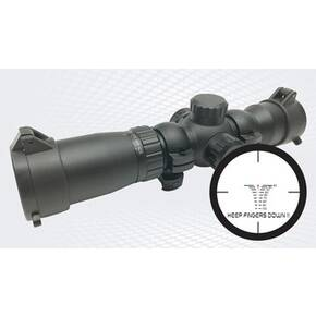 Ravin Illuminated Crossbow Scope - 20-100 Yard Range