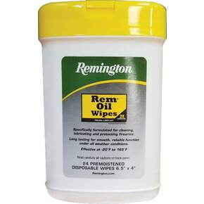 Remington RemOil Pop-up Wipe - Compact 24/ct