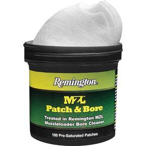 Remington MZL Patch & Bore -100/ct