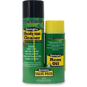 Remington Value Pack 10oz Oil & 18oz. Shotgun Cleaner