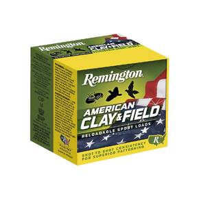Remington American Clay and Field Shotshells 12ga 2-3/4 1-1/8oz  1200 fps #7.5 25/ct