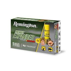 "Remington Premier Expander Sabot Slug Shotshell  20 ga 2-3/4"" 1825 fps Slug 5/ct"