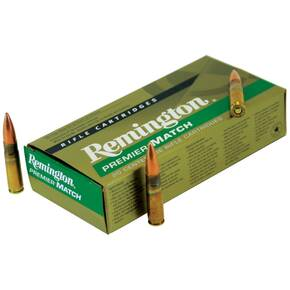 Remington Premier Match Rifle Ammunition .300 AAC Blackout 125 gr OTM 2215 fps - 20/box