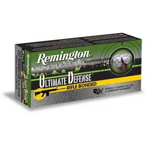 Remington Ultimate Defense Core Lokt Rifle Ammunition .223 Rem 62gr PSP 10/ct