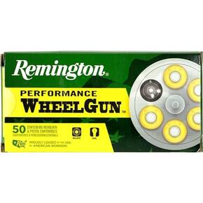 Remington Wheelgun Ammunition .38 Spl 148gr LRN 50/ct