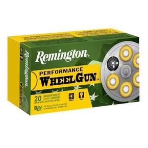 Remington Performance Wheel Gun Ammunition .44 S&W Spl 246 gr LRN 755 fps 50/ct