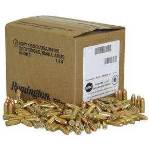 Remington UMC .40 S&W 180 gr FMJ  650/box Handgun Ammunition (Bulk)
