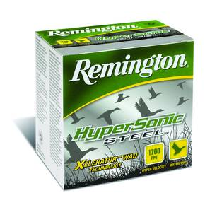 "Remington HyperSonic Steel 12 ga 3 1/2""  1 3/8 oz #4 1700 fps - 25/box"