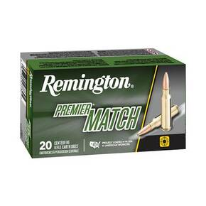 Remington Premier Match Rifle Ammunition 6.5 Grendel 120 gr OTM 20/ct