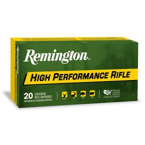 Remington High Performance Rifle Ammunition 6.5 Grendel 120gr BTHP 20/ct