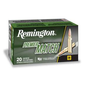 Remington Premier Match Rifle Ammunition 6mm Creedmoor 115gr BTHP 20/ct
