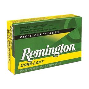 Remington Core-Lokt Rifle Ammunition 6.5 Creedmoor 140gr SP 2700 fps 20/ct
