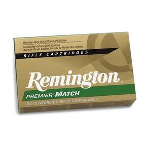 Remington Premier Match Rifle Ammunition 6.5 Creedmoor 140 gr BTHP 20/rd