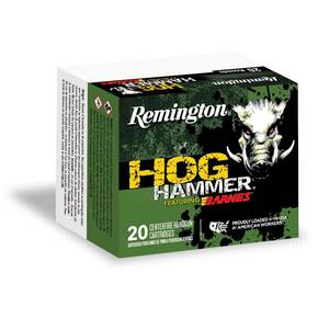 Remington Hog Hammer Handgun Ammunition .357 Mag 140 gr Barnes XPB 1265 fps 20/ct