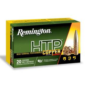 Remington HTP Copper Rifle Ammunition .300 ACC Blackout 130gr TSX 20/ct