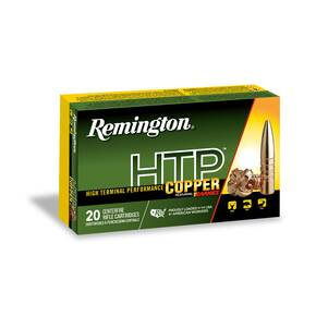 Remington HTP Copper Rifle Ammunition 450 Bushmaster 250gr Triple Shock X 20/ct