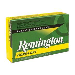 Remington Core Lokt Rifle Ammunition 7mm RUM 150gr PSP 20/ct