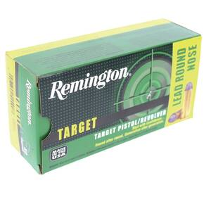 Remington Target Handgun Ammunition .45 Colt  250 gr LRN  50/box