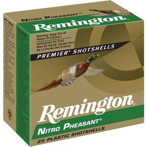 "Remington Nitro Pheasant 12 ga 2 3/4"" MAX 1 1/4 oz #4 1400 fps - 25/box"