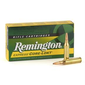 Remington Core-Lokt Rifle Ammunition 7mm Rem Mag 140 gr PSP 3175 fps - 20/box