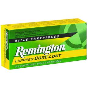 Remington Core-Lokt Rifle Ammunition 6mm Rem 100 gr PSP 20/Box