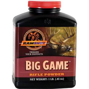 Ramshot Big Game Rifle Powder 1 lbs