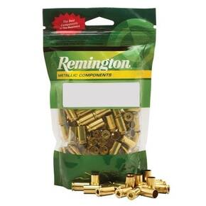 Remington Unprimed Brass Handgun Cartridge Cases 50/Bagged 9mm Luger