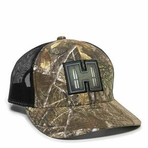 Realtree Edge/Black Cap Mesh Back w/Hornady Label