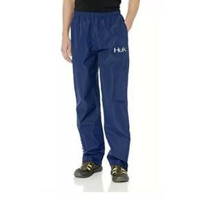 Huk CYA Packable Rain Pant Navy Mens