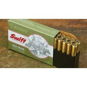 Swift A-Frame Rifle Ammunition .338 Win Mag 250 gr A-Frame 2570 fps 20/ct