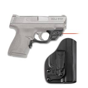 Crimson Trace Laserguard LG-469/H Red Laser with Blade-Tech Klipt IWB Holster for S&W M&P Shield