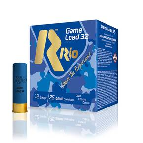 "Rio Super Game 12 ga 2 3/4"" 3 1/4 dr 1 1/8 oz #6 1280 fps - 25/box"